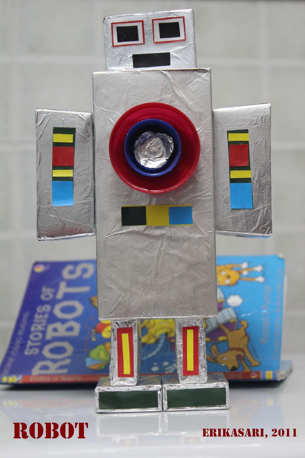 Bip Akhirnya Kesampaian Juga Buat Robot Kami Membuatnya Dari Kotak