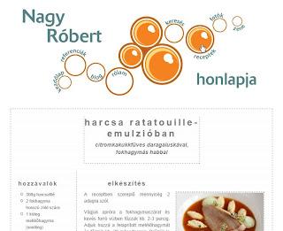 fénykép Nagy Róbert honlapja új fejléc menü