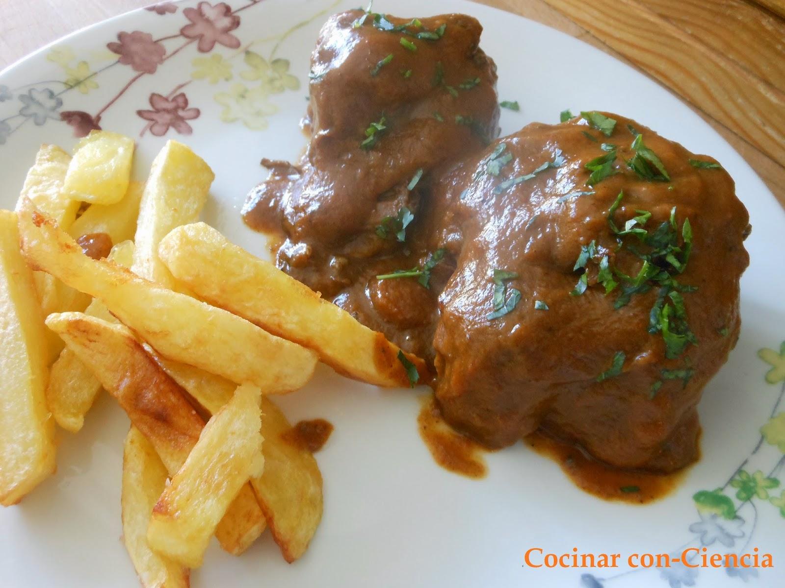 Rabo de toro en salsa espesa de vino cocinar con ciencia - Cocinar rabo de ternera ...