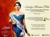 Pemenang Puteri Indonesia 2015 Anindya Kusuma Putri Juara
