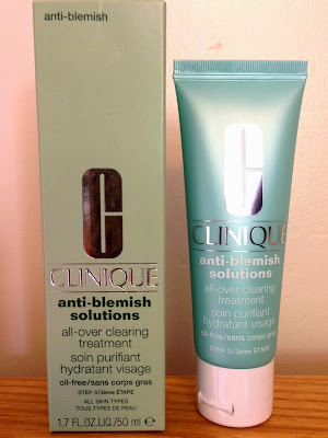 Clinique Anti-Blemish All-over Clearing Treatment