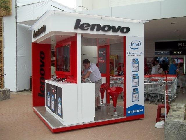 IMPACTO MODULAR (Publicidad comercial): Islas para centros comerciales stands...