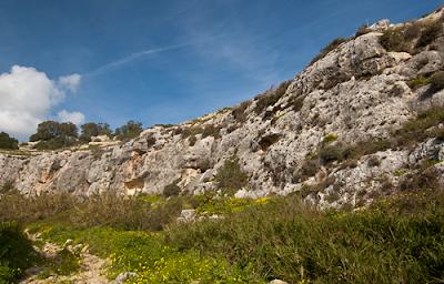 Zonas escalada en Malta