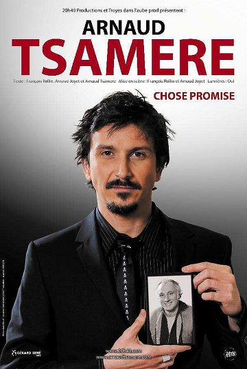 Arnaud Tsamere – Chose Promise