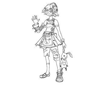 #1 Tiny Tinas Assault Coloring Page