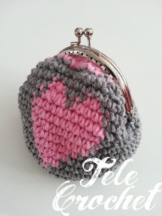 Monederos crochet - Patrones monederos ganchillo ...