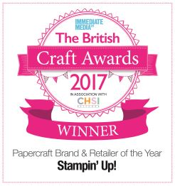 Winner of the British Craft Awards 2017