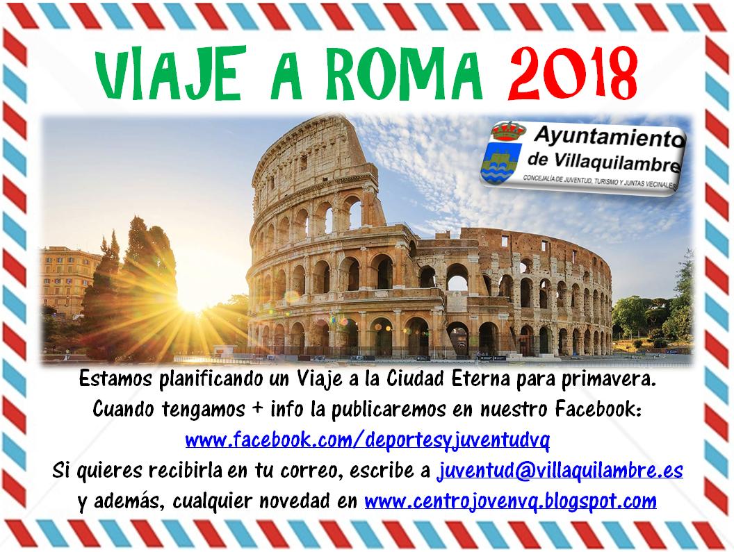 VIAJE A ROMA 2018