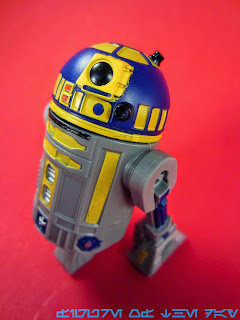 R2-Series Astromech Droid Blue and Yellow (not R8-B7)
