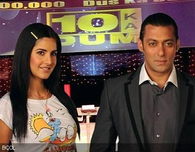 salman khan and katrina kaif in dus ka dum 2 wallpapers