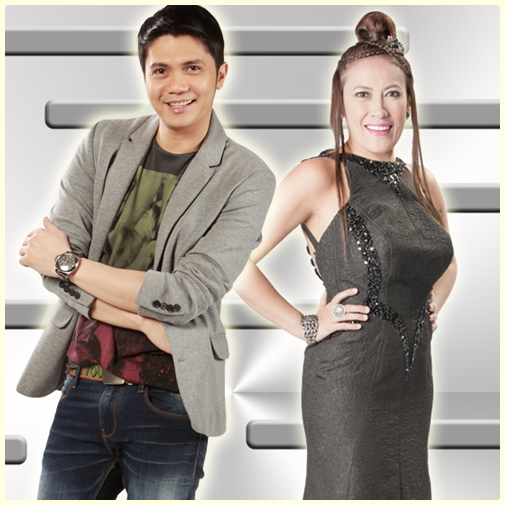 Vhong Navarro as Justin and Ai Ai Delas Alas as his cousin Ate Van in Toda Max