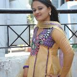 Usha Photos in Salwar Kameez at Gundello Guchi Guchi Champake Movie Press Meet 16