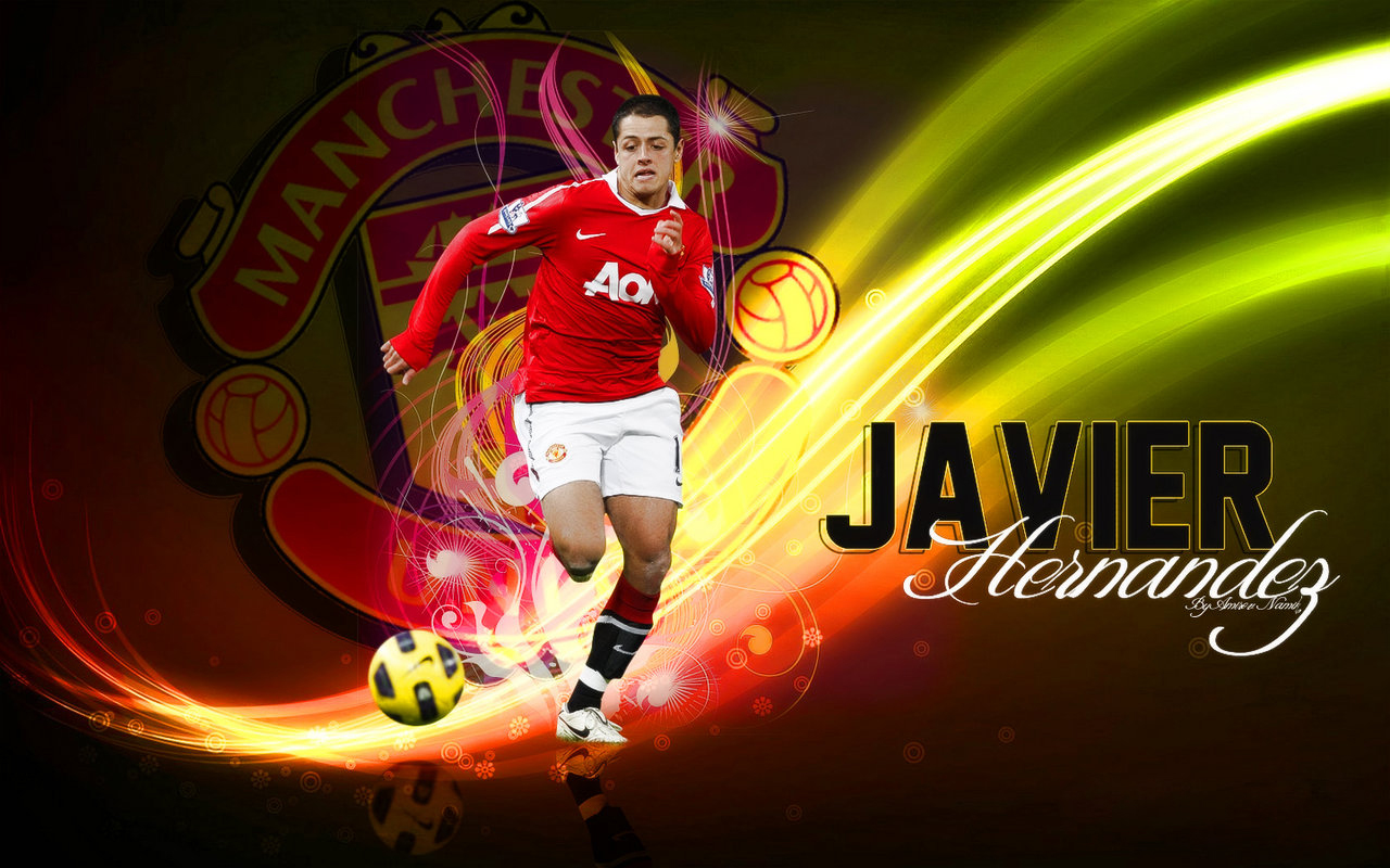 World Sports Hd Wallpapers: Manchester United Javier Hernandez Hd Wallpapers