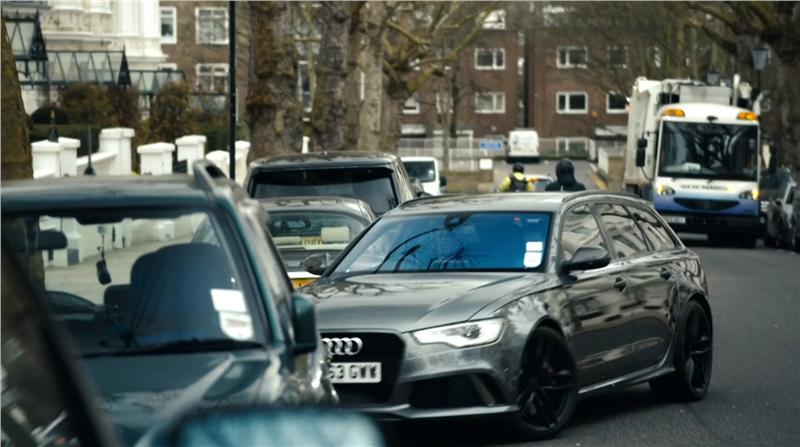 David Beckham Audi RS6 Avant