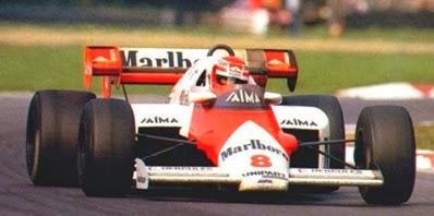 Formula 1 1984 Niki Lauda/ Mclaren