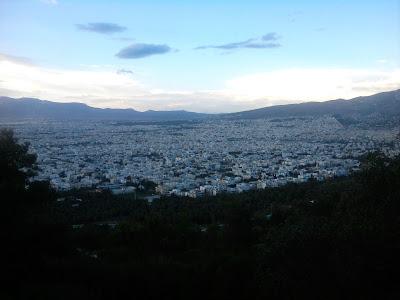 Θέα από τον Υμηττό 2