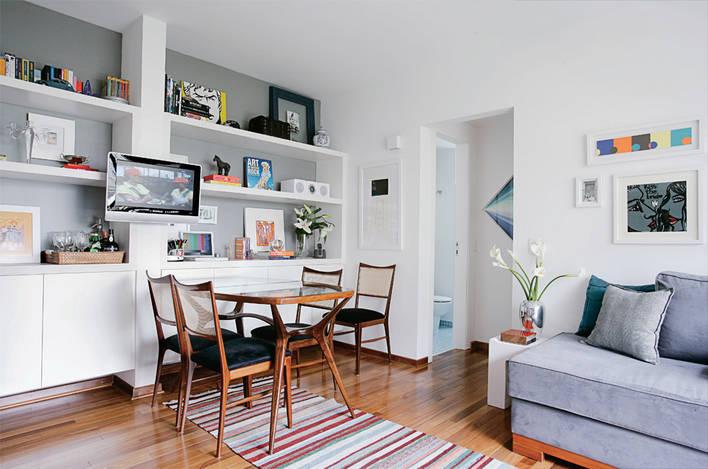 Excepcional DECORA INTERI: Decoração de apartamentos pequenos: de 50m2 ES69
