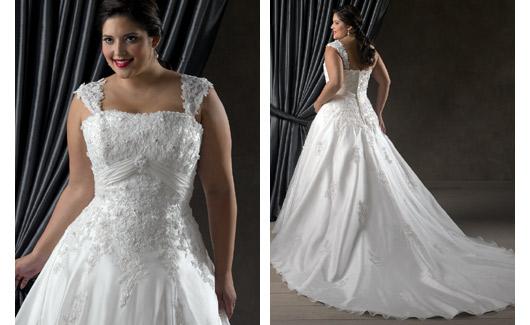 Bonny Plus Size Wedding Dresses