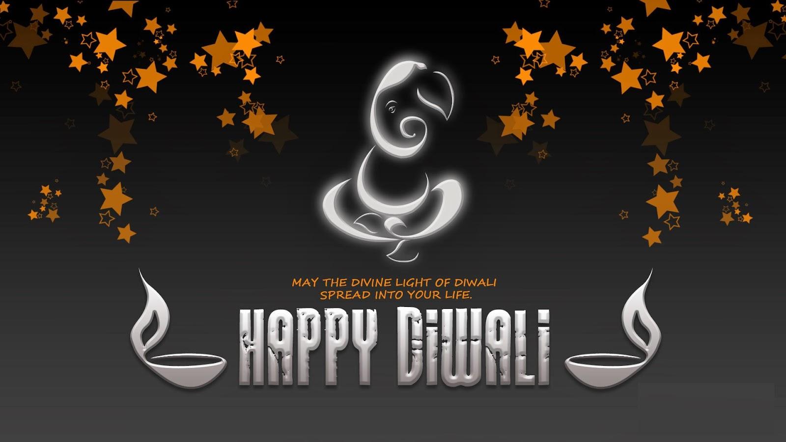 Khushi For Life Goddess Ganesha Diwali Wishes Messages Cards
