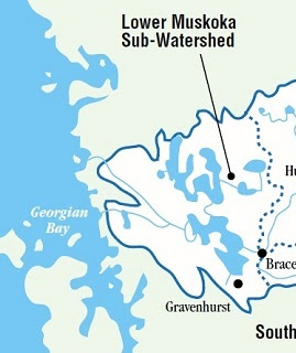 Muskoka Watershed Council schematic.