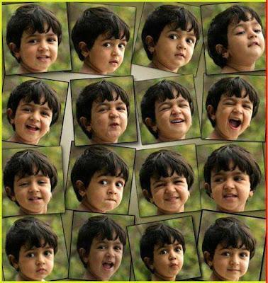 Small Baby Reactions : குட்டித் தேவதையின் பாவனைகள்!