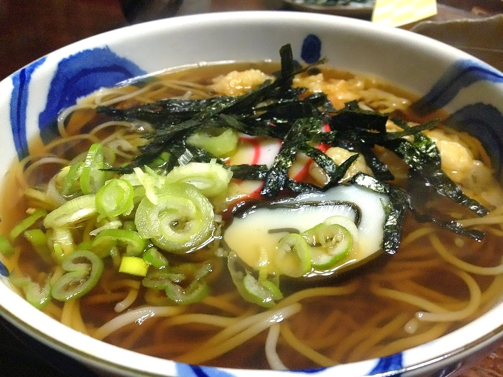 Toshikoshi Soba or Year-End Soba: A bowl of hot soba noodles to end ...