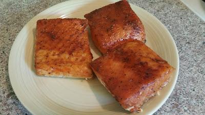 Sriracha Smoked Salmon