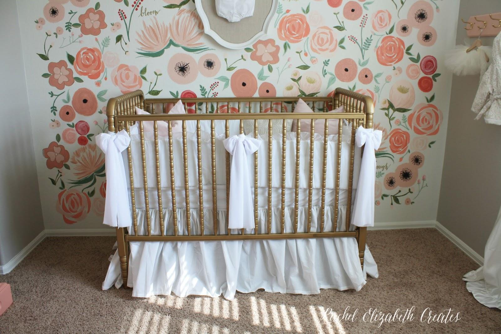 baby girl nursery hand painted floral wall mural rachel img 6185 282 29 jpg