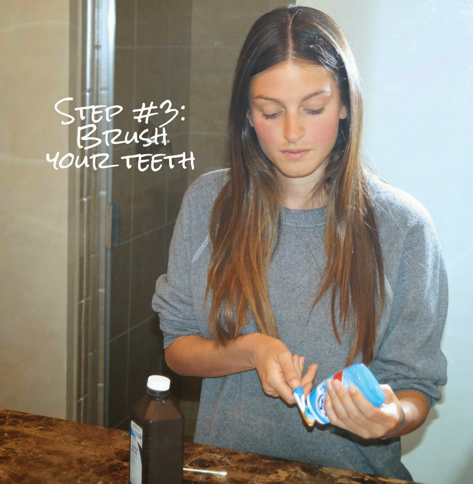 DIY: organic teeth whitening