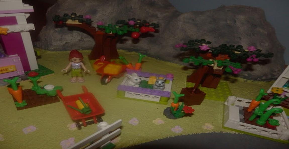 Realistyczna makieta dla klocków LEGO