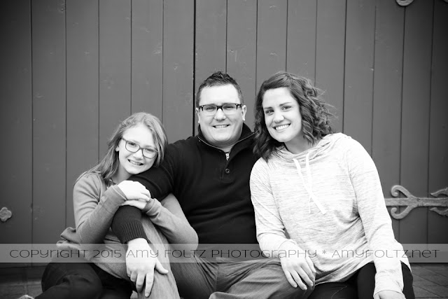 family session in downtown Terre Haute, Indiana