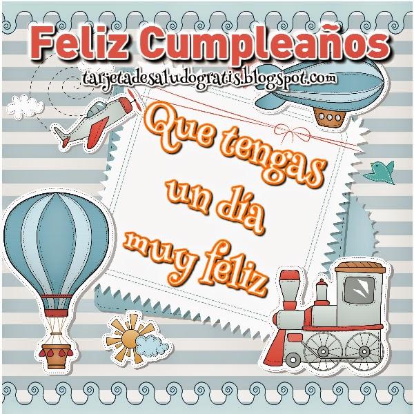 Feliz cumpleaños para nene