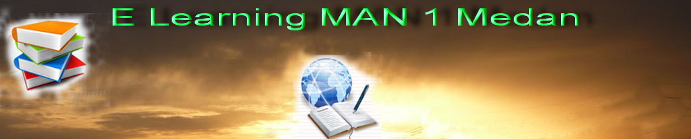 E Learning MAN 1 Medan