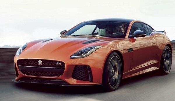 Este es el nuevo Jaguar F-Type SVR