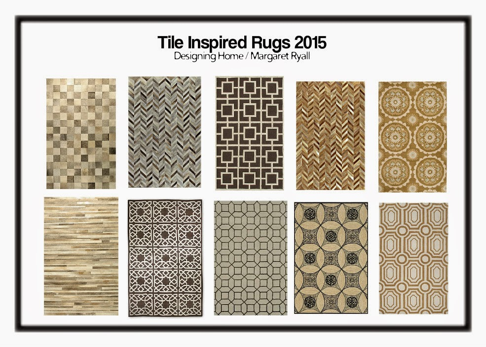 rugs tile patterning trend 2015
