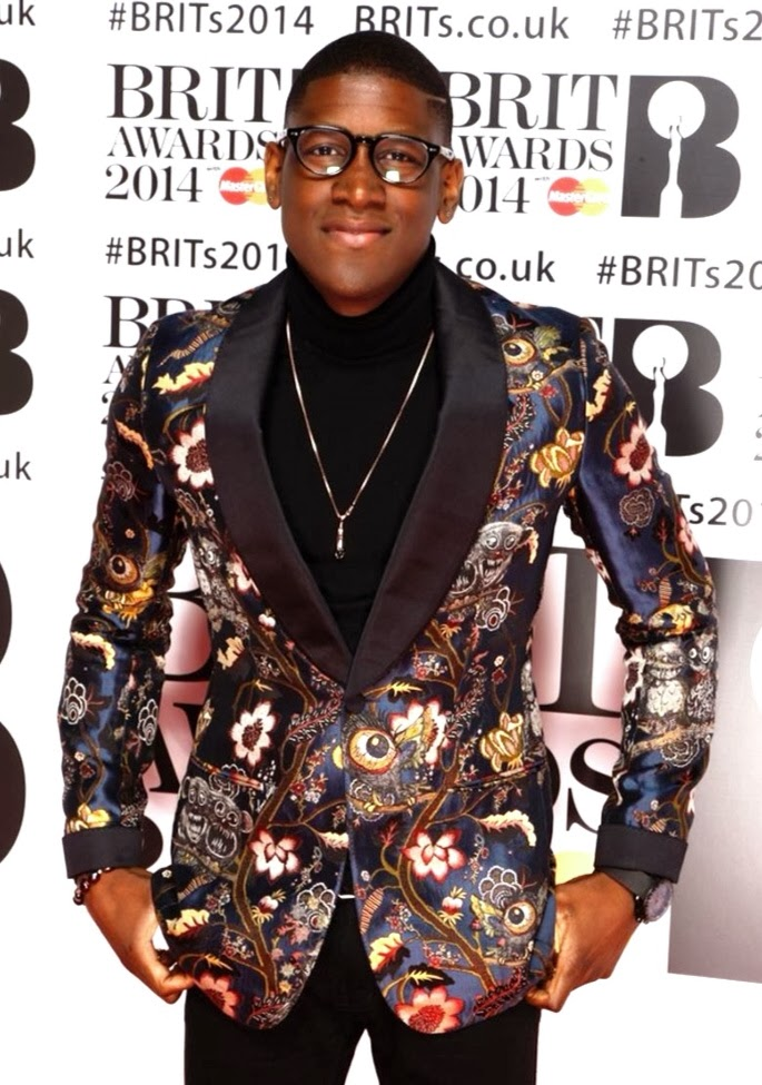 Labrinth in Louis Vuitton and Bobby White London - Brit Awards 2014