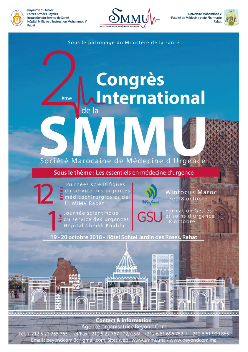 Congrès International de la SMMU 2018