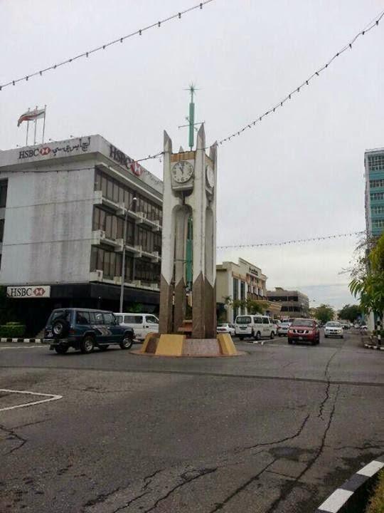 Kuala Belait Monument Jam Peringatan