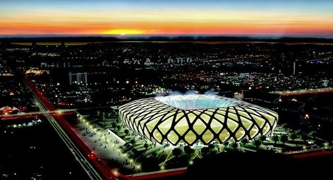 Brazil world cup stadium capacity