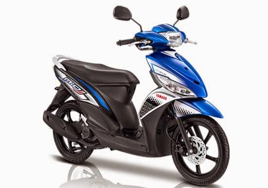 Yamaha Mio J FI Sporty Blue