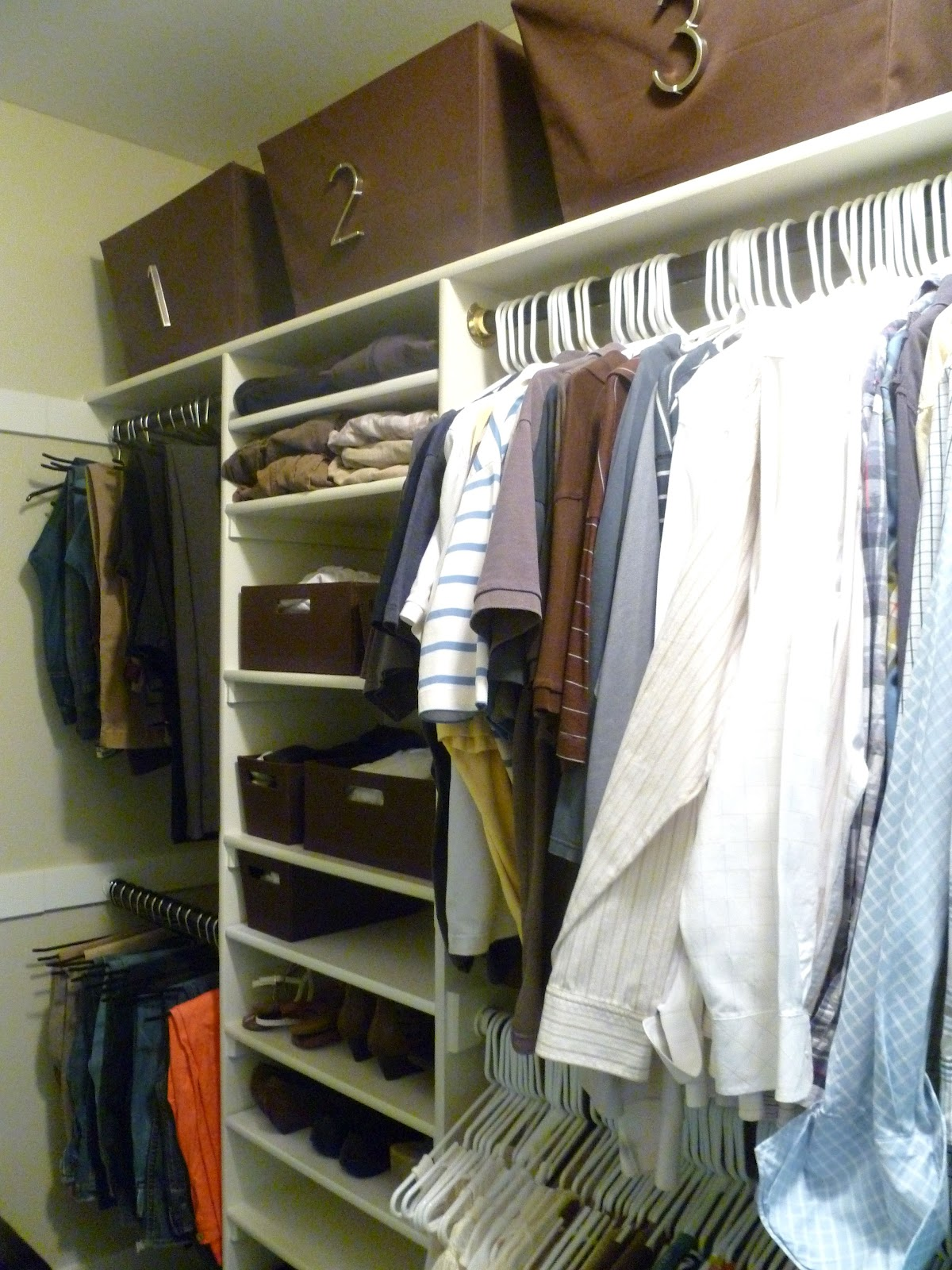Closet Revamp. Full resolution  image, nominally Width 1200 Height 1600 pixels, image with #68472B.
