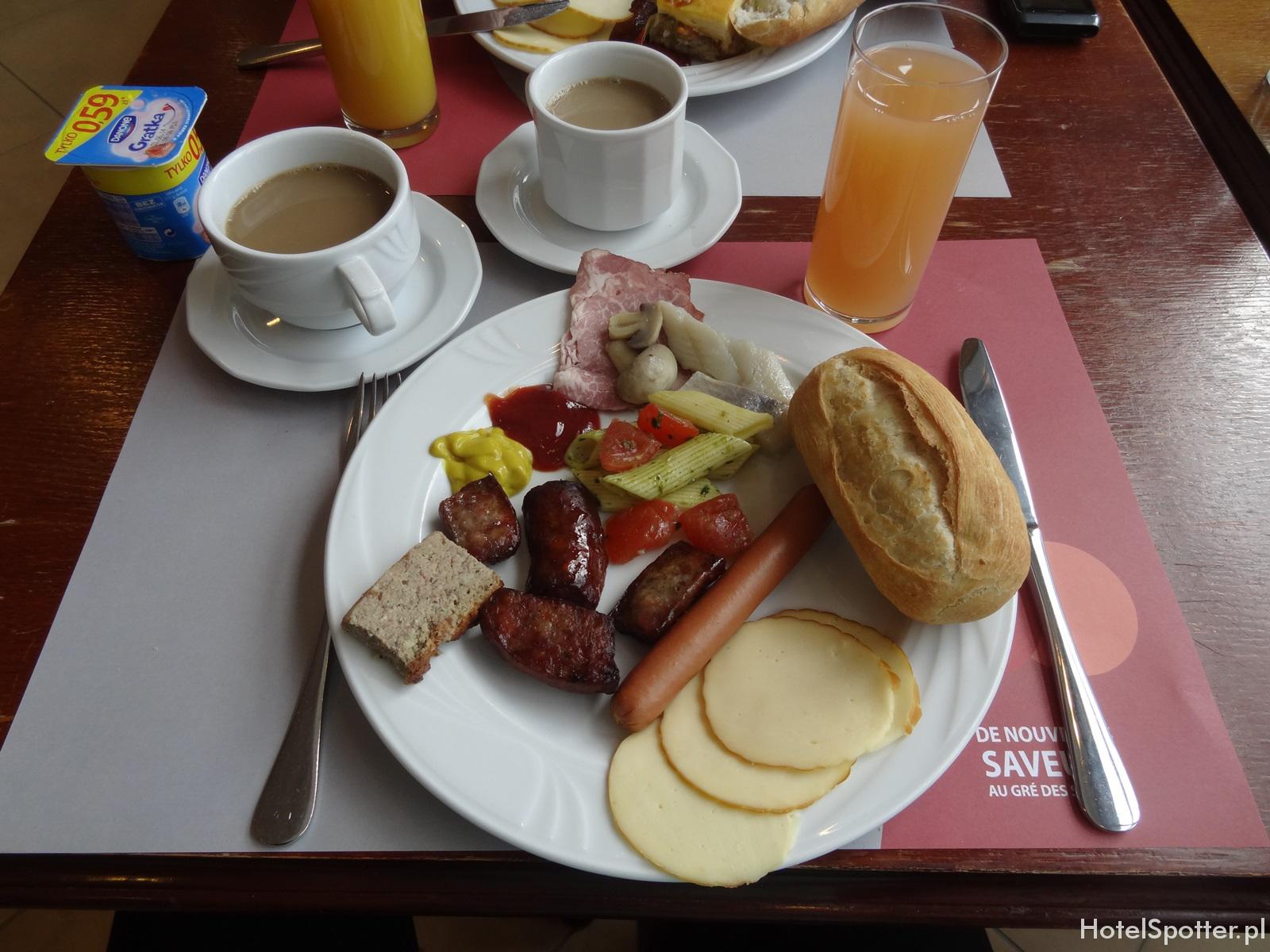 Campanile Varsovie Warszawa - sniadanie