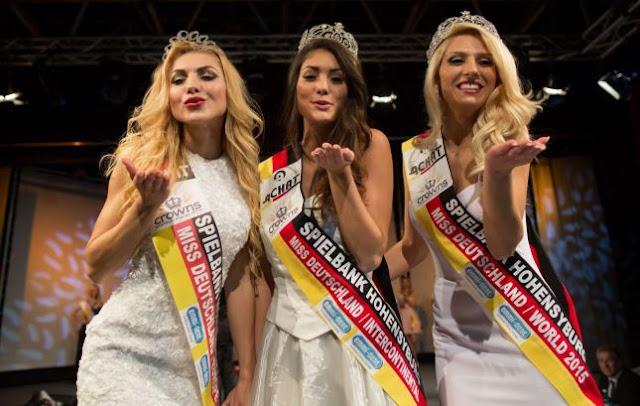 Bukuroshja Shqiptare kurorëzohet Miss Gjermania 2015