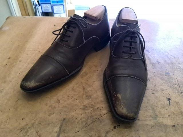 doekのお修理ブログ!!: 靴磨き ...