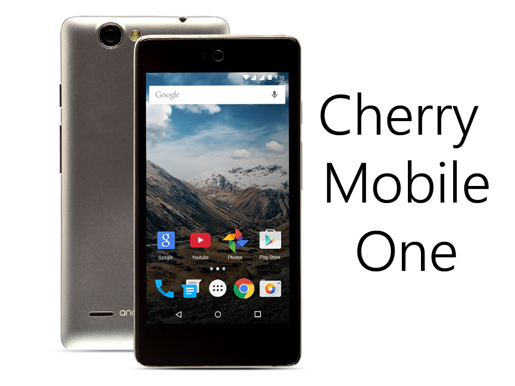 Cherry Mobile One, Android One Smartphone Soon To Be Released In PH