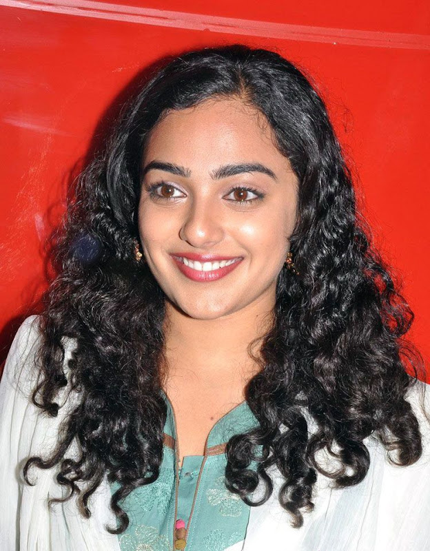 Nithaya menon Cute Stills in  tamil Movie Press meet new Photos wallpapers