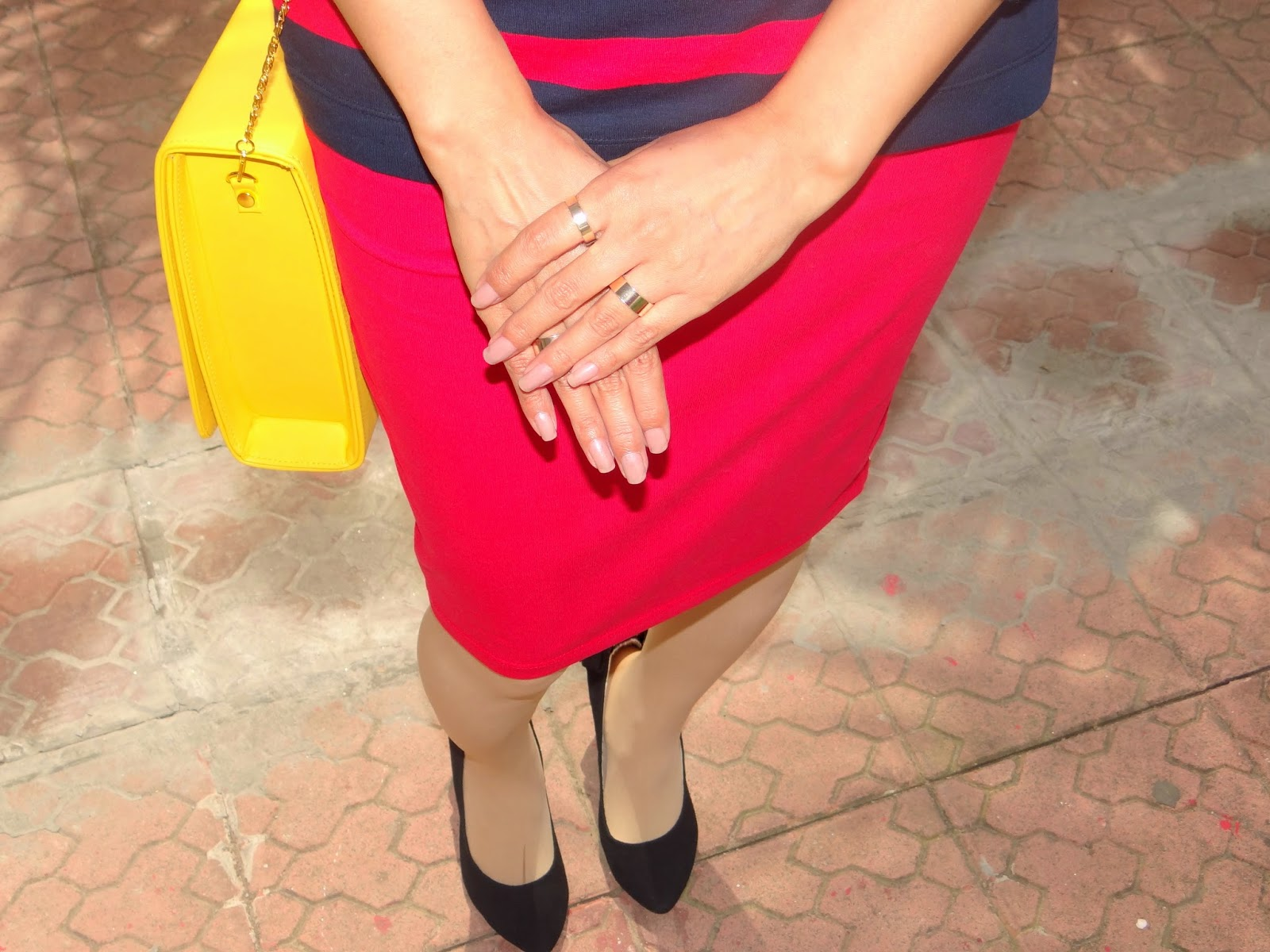 StalkbuyLove Drop Yourself for Red Pencil Skirt- Chamber of Beauty