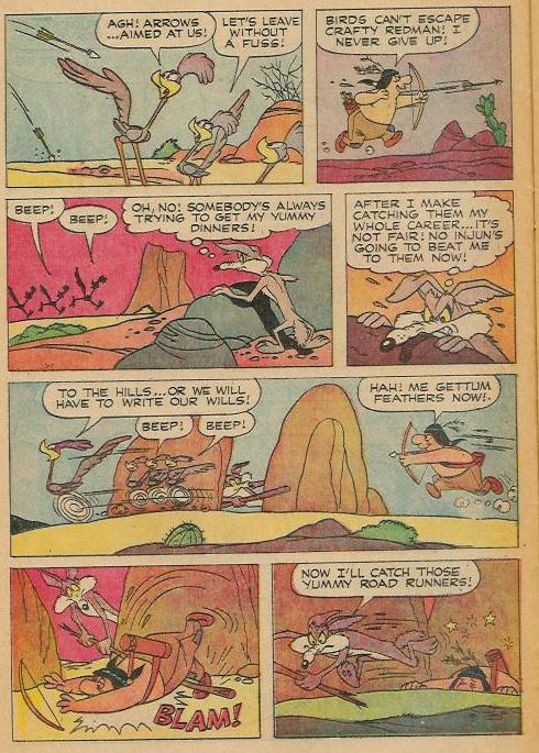 looney tunes and merrie melodies comics   u0026quot beep beep the roadrunner u0026quot  gold key   20  october 1970