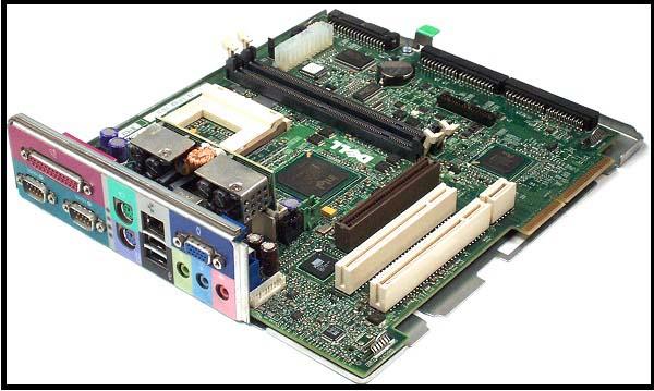 [صيانة الكمبيوتر] تحديد اي قطع الجهاز هي سبب المشكلة Motherboard