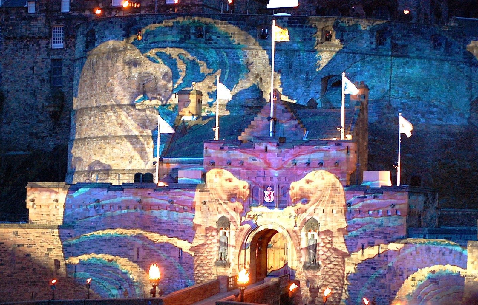 Son et lumiere at Royal Edinburgh Military Tattoo